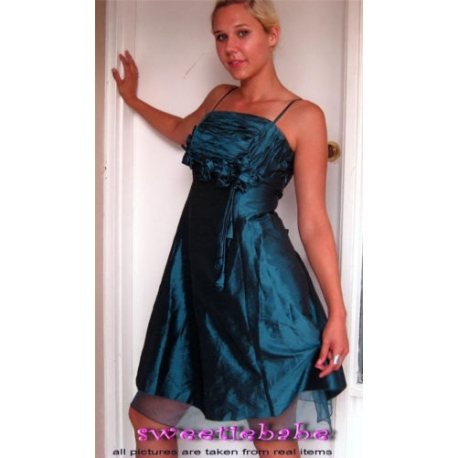 Sweeteibabe S01 SEXY Evening Cocktail Party Trim Dress S/M/L/XL