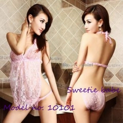 Sweetie babe Lace skirt type temptation Lingerie Sexy pink Linge