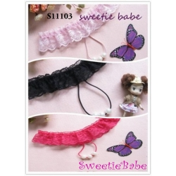 Sweetiebabe S11103 Sexy Lady G-String with Large Pearls Women Underwear Lingerie Knickers Thong Briefs